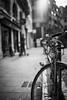 The streets of... Grenoble #42 (richardtostain) Tags: street rue noir blanc noirblanc nb blackwhite bw grenoble bike vélo sony a7ii pentax fa limited 43mm f19
