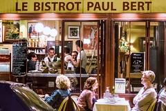 paris nightlife (-liyen-) Tags: paris cafe urban city dining paulbert people france summer restaurant night