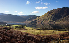Crummock Again! (Andy & Helen :-) :)) Tags: lake crummock helenholt canon cumbria lakes england february peaceful water mountains winter natural beauty