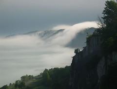 Foggybluffs (LarryJH) Tags: scarborough bluffs fog lake ontario