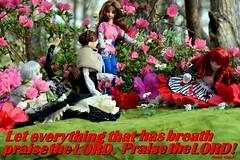 Enjoying God's Creation - Azalea Amore 2018 (MayorPaprika) Tags: canoneosrebelt6i 16 custom diorama toy story paprihaven action figure set jdoll camdenhighstreet de9straatjes momoko orionssonata junplanning takara cg cygirl kat stringsofgrace malibupark