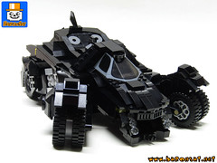BATMOBILE ARKHAM KNIGHT 02 (baronsat) Tags: lego batmobile arkham knight videogame video game custom model moc commissioned