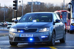 Unmarked Traffic Car (S11 AUN) Tags: cleveland police skoda octavia vrs tsi anpr unmarked traffic car rpu roads policing unit 999 emergency vehicle