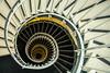 The sun will shine (Elbmaedchen) Tags: staircase stairs stairwell treppenauge treppenhaus helix roundandround spirale spiral schnecke hamburg escaliers escaleras architecture interior