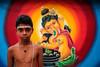 Young Brahmin - Kandy, Sri Lanka (Maciej Dakowicz) Tags: srilanka kandy portrait priest brahmin hindu ganesh ganpati fujifilmxseries fujifilmxt2