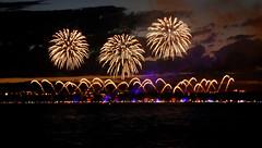 Fireworks - Annecy (Carandoom) Tags: 2017 france annecy fireworks light lake ciel night panasonic dmc tz100
