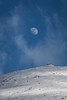 The Moon over mount Hermon (Alex Savenok) Tags: hermon mountains israelnature moon clouds snow sky clear d610 landscape nikon70300f4556 חרמון ישראל
