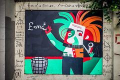 Contribution to society (Melissa Maples) Tags: istanbul turkey türkiye asia 土耳其 apple iphone iphone6 cameraphone kadıköy caferağa moda graffiti streetart art emc2 einstein