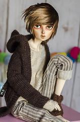 Almost done (✄Frappzilla) Tags: minifee halloween event head fairyland mnf bjd abjd doll