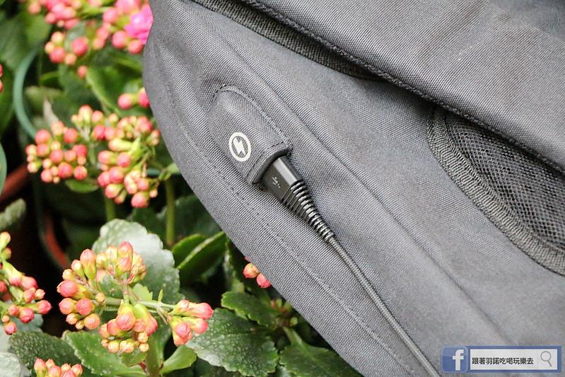 UTmall、USB充電背包、防盜09