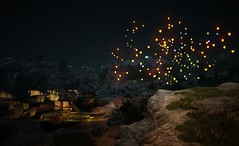 They Cast Their Wishes into the Sky (~Sublime~) Tags: bdo blackdesertonline velia paperlanterns wishes