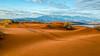 Tracks in the dunes (Will is Bill) Tags: dunes desert atv statepark utah southernutah lake mountains stgeorgeutah