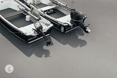 Las Barcas de Delfin y Alicia (Jesús Hermosa) Tags: 35mm agua bn bw bahia barca barco bay blancoynegro bote cantabria españa mar santander sea ship sonya200 sonyalpha spain water