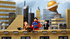 Rooftop Tales; An Interview On The Skyline! (Andrew Cookston) Tags: lego dc comics superman clark kent lois lane jimmy olsen red blue tan animated series bruce timm grant morrison forced perspective photoshop custom minifig stilllife toy lighting nikon macro photography andrew cookton andrewcookston