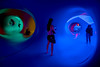 A World of Colour! (SemiXposed) Tags: architects air powered siemens world colour light inside giant blowup labyrinth winding tunnels soaringhigh domes sony federation square melbourne australia alan parkinson ecuadorian cloud forest luminous treelike structures indoors people