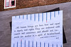 I'm not ashamed to confess, when I was young, I deeply believed in this (zivko.trikic) Tags: leiden holland wall brick un united nations message article human rights