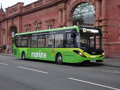 trent barton 116 Nottingham Station (Guy Arab UF) Tags: trent barton 116 yx67uxv alexander dennis e20d enviro 200 mmc bus nottingham station wellglade buses wellgladegroup