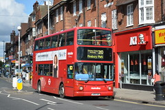 TA657 - 210 Finsbury Park (3) (Gellico) Tags: metroline london bus route 210 finsbury park ta657