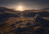 A new path (Fran4Life) Tags: abruzzo campomperatore canyon scoppaturo sunlight rocks foreground landscape beautiful curves path light glow italy italia gransasso sunstar
