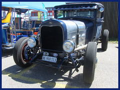 Ford Model A, 1929, Hot Rod (v8dub) Tags: ford model a 1929 hot rod schweiz suisse switzerland langenthal american pkw voiture car wagen worldcars auto automobile automotive classic collector custom klassik kustom