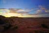 Sunset over Hanging Garden hike, Page, Arizona (Andrey Sulitskiy) Tags: usa arizona page