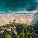 Aerial of Anse Intendance Mahe, Seychelles
