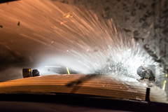 @20180112-D5 PlowingUS33-11 (OhioDOT) Tags: district5 odot plow ridealong route33 salt six snow storm plowing truck
