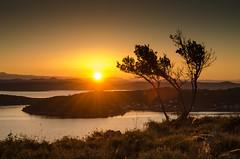 beginning of a very hot day (Flos Fotos) Tags: berge dugiotok kroatien landschaft licht mittelmeer sommer urlaub waldundwiese wasser