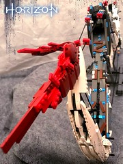 Horizon Zero Dawn - Sharpshot Bow (Abathar) Tags: horizon zero dawn lego moc creation playstation sony sharpshot bow arrow weapon scifi feathers video game