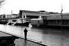 On the edge of the Seine (pascalcolin1) Tags: paris13 seine homme man bord edge pont bridge photoderue streetview urbanarte noiretblanc blackandwhite photopascalcolin 5omm canon50mm canon