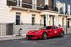 Mayfair regular (Cameron Gow) Tags: ferrari f12tdf tdf f12 ferrarif12 ferrarif12tdf v12 london mayfair suoercar car fast red canon photography automotive automotivephotography