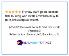 rpr-review-efa3e1b76295b038ab7c688faa7c0e56 (Dr_Alan_Bauman) Tags: prp hairtransplant fue surgery ecm florida bocaraton miami palmbeach orlando review rating patient 5star baumanmedical 82m minoxidil rogaine finasteride finplus topical oral lasertherapy lasercap capillus