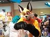 G-Anime 2018 - Korby Wright (Kakurady) Tags: fox orange macro fleurdelis arrow bowtie fursuit furthewin ganime gatineau quebec canada