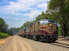 Napa Valley Wine Train (rolfstumpf) Tags: usa california rutherford napavalley nvrr71 mlw fpa4 passengertrain railway railroad wineyard spring locomotive