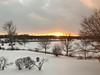 Winter Sunset (jpetcoff) Tags: sunset winter snow sun dusk eveing rochester upstate ny new york cold trees iphone 8