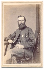 Officer of the Fifth Corps (Piedmont Fossil) Tags: antiquephoto cdv cartedevisite civilwar union soldier officer uniform corps badge