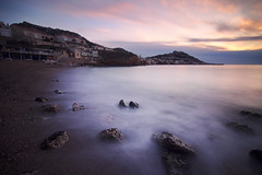 Slow Time (alex notag) Tags: marseille plage beach longexposure poselongue ndfilter nd1000 sunset seascape