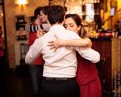 Milonga at Café Floréo 8th anniversary, Brussels, February 2018