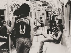 The Warriors (Jonathan Clarkson) Tags: thewarriors newyorkcity brooklyn films movies 1979 musclearms strongmuscles boyswithmuscles muscles muscle flexingarms leather streetgangs strongboys muscleboys