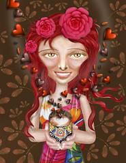 "CHOCO...LATE (planeta urazan) Tags: chocolat chocolate ""aleida sanchez"" ""taller creativo aleida"" urazanplanet ""mario urazan"" mariourazan illustrations ilustraciones aleidasanchez tallercreativo taller aleida"
