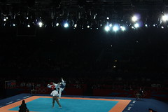 Taekwondo London Olympics 2012 (AntoniaCheng) Tags: taekwondo sports olympics 2012 london martial arts aerial