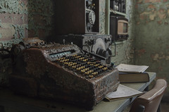 The Code Breakers (andre govia.) Tags: enigma code abandoned andregovia abandonedhospital war room breakers urbex ue decay decayed derelict down decaying decayedbuildings demo