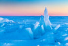 Opalescent Tectonics (The Charliecam) Tags: ice lakemichigan michigansupperpeninsula up sunset landscape pastel shard castle cold water greatlakes winter calm canon6d 24105f4l