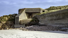 Stay off my beach (Tony Tomlin) Tags: jerseyuk channelislands fort gunemplacement beach defence