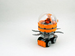 Orange Slicer (SmallFrost) Tags: lego space rover febrovery