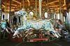 Carousel (iampaulrus) Tags: mjuii olympusmjuii brighton paulfargher paulfargherphotography lomography lomo analogue wideanglelens analoganalogue35mm analog film filmphotography 35mm 35mmfilmphotography carousel brightonpier