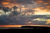 Slow Fade (4oClock) Tags: orkney nikon d90 18105 nikkor islands scotland britain uk north archipelago sunset orange red sky cloud evening birsay storm atlantic ocean sea water weather broughtofbirsay lighthouse explosioninthesky