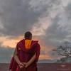 Asia / Nepal / Kathmandu / Swayambhunath (Pablo A. Ferrari) Tags: pabloferrariart nepal asia kathmandu historical unesco temple swayambhunath buddhism templo monkey budismo budista nepali nepalian monje cielo montaña paisaje