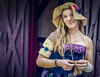 Girl and a hat (henryperez) Tags: toddmission texas unitedstates us renfest renaissance festival 2017 costumes cosplay sony a7ii adobe lightroom photoshop photography