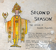 Second Season Costume Design (detail) (Madison Historical Society (CT-USA)) Tags: madisonhistoricalsociety madisonhistory mhs madison conn connecticut ct connecticutscenes country usa newengland nikon nikond600 d600 bobgundersen old historical history museum jitneyplayers woodlandgardenplays barntheatre theplaybarn interesting image outside outdoor exterior photo picture places people performer costume shoreline shot scene scenes bostonpostroad route1 flickr design art constancegrenellewilcox constancewilcoxpignatelli princess alicekeatingcheney
